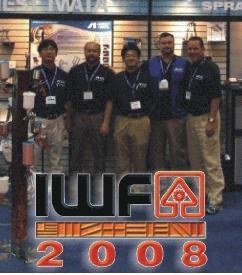 Anest Iwata Woodworking Machinery Furniture Supply Fair