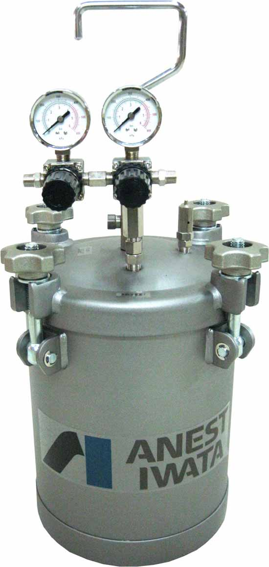 Pressure Paint Gun Pot : Pressure pots « anest iwata