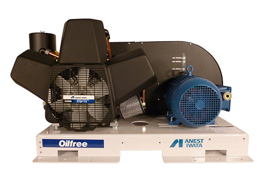 Anest Iwata OFB Oil Free Compressor